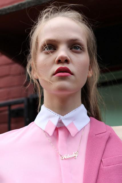 camicia pastello due colori rosa scuro rosa chiaro
