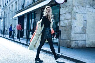 parigi giacca k way lady fur foto 9