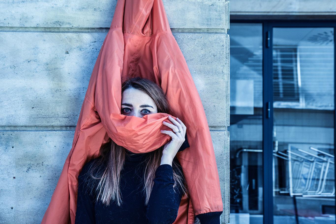 parigi giacca k way lady fur foto 14