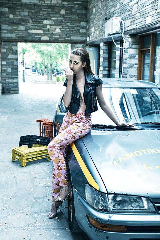 Pantaloni Ultra Chic Giacca Alessandra de Tomaso Scarpe Giannico