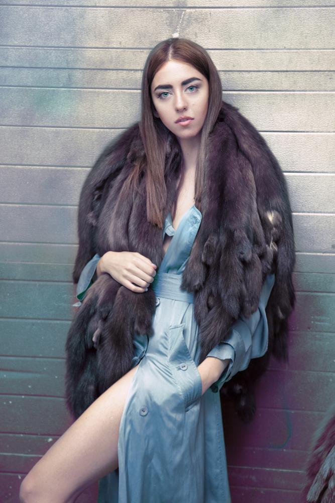 lady fur pelliccia zibellino guida