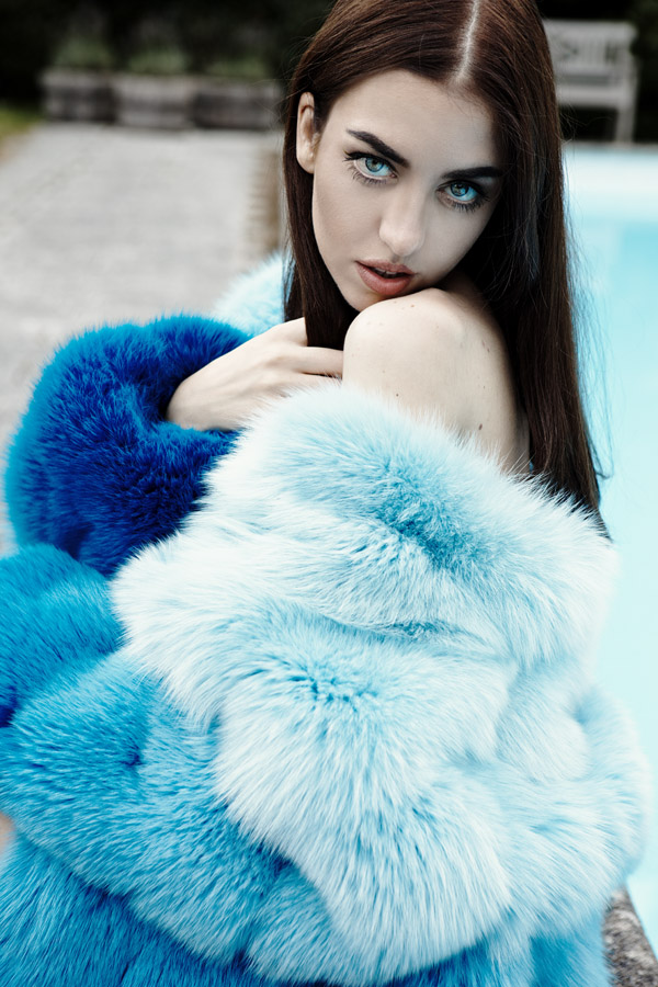 lady fur pelliccia volpe sexy