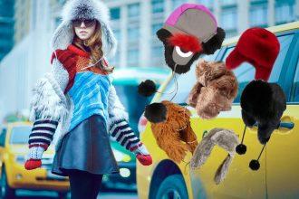 cappello cacciatore con pelliccia