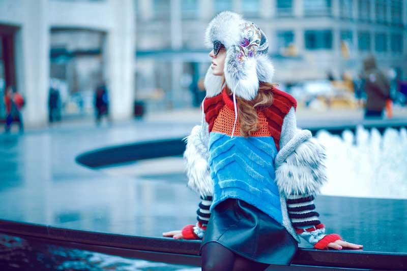 cappello pelliccia furlong lady fur new york fashion week 2015