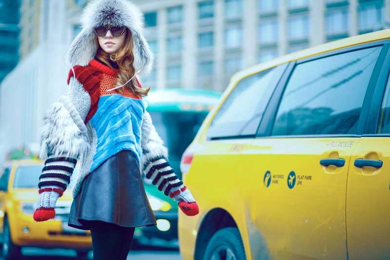 lady fur furlong cappello volpe nyfw 2015