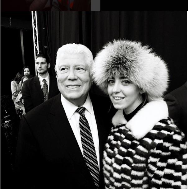 Dennis Basso e Lady Fur AI 2015 NYFW
