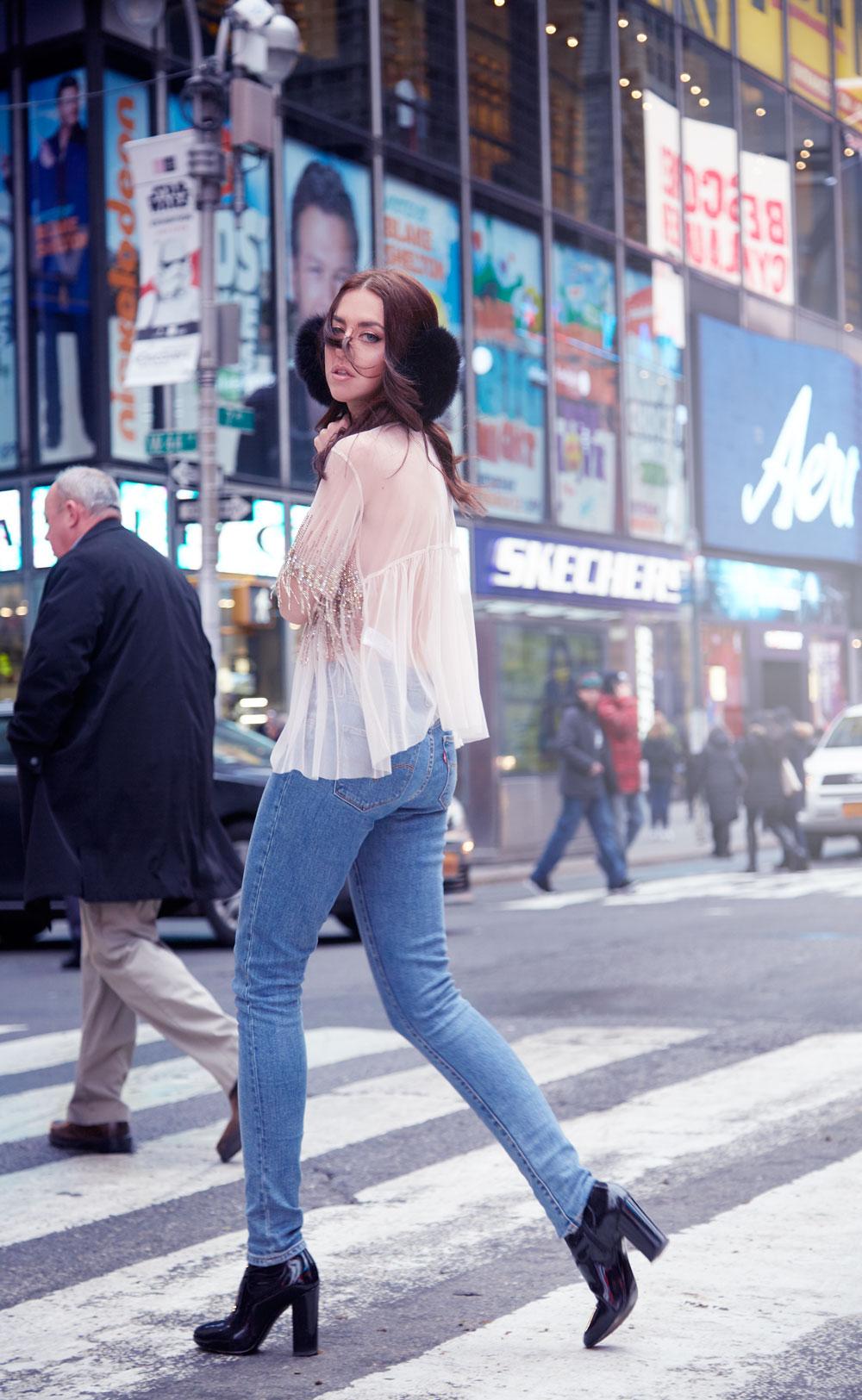 lady fur new york