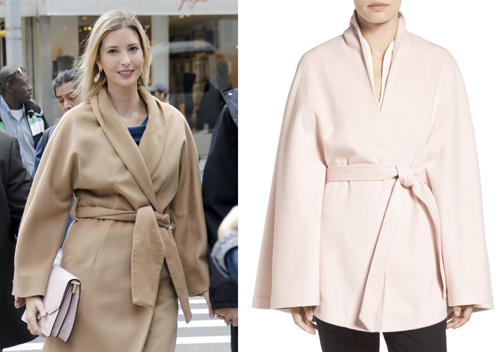 Cappotto trench Ivanka Trump