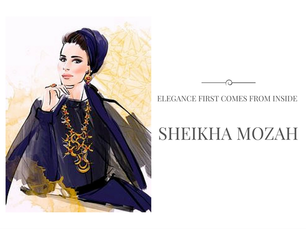 sheikha mozah moodboard