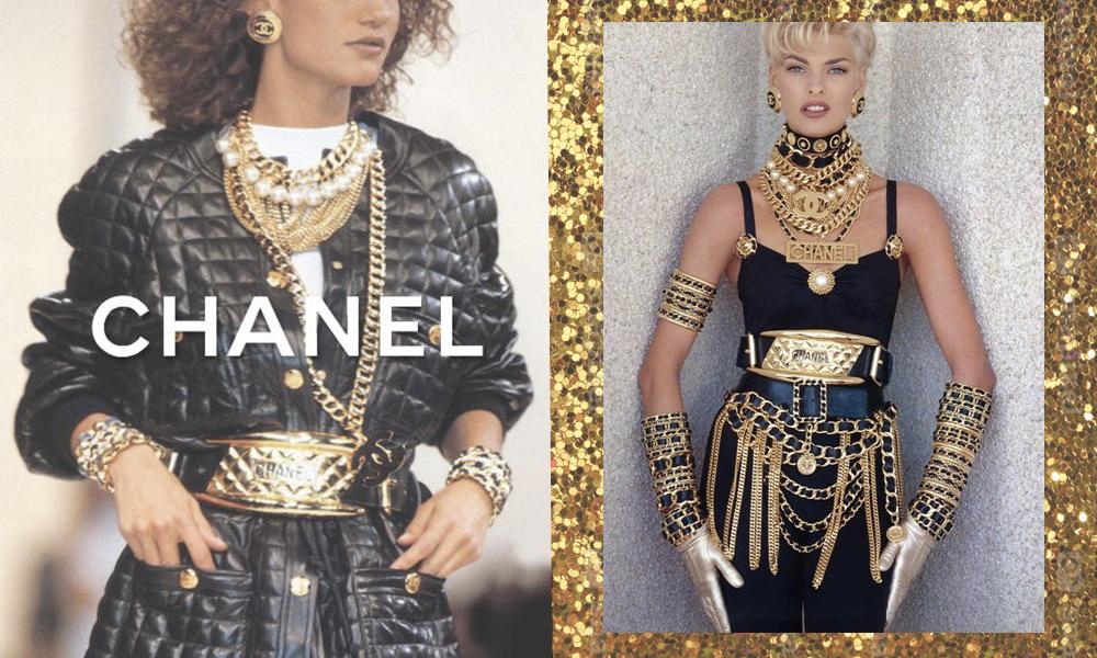 Chanel Moda anni 80
