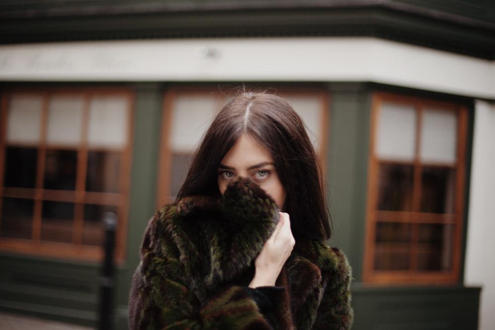 lady fur pelliccia visone a roma