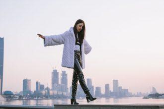 giacca di pelliccia xxl giorgio magnani bianca