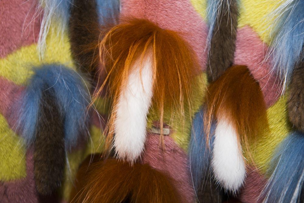 intarsio pelliccia visone kopenhagen fur