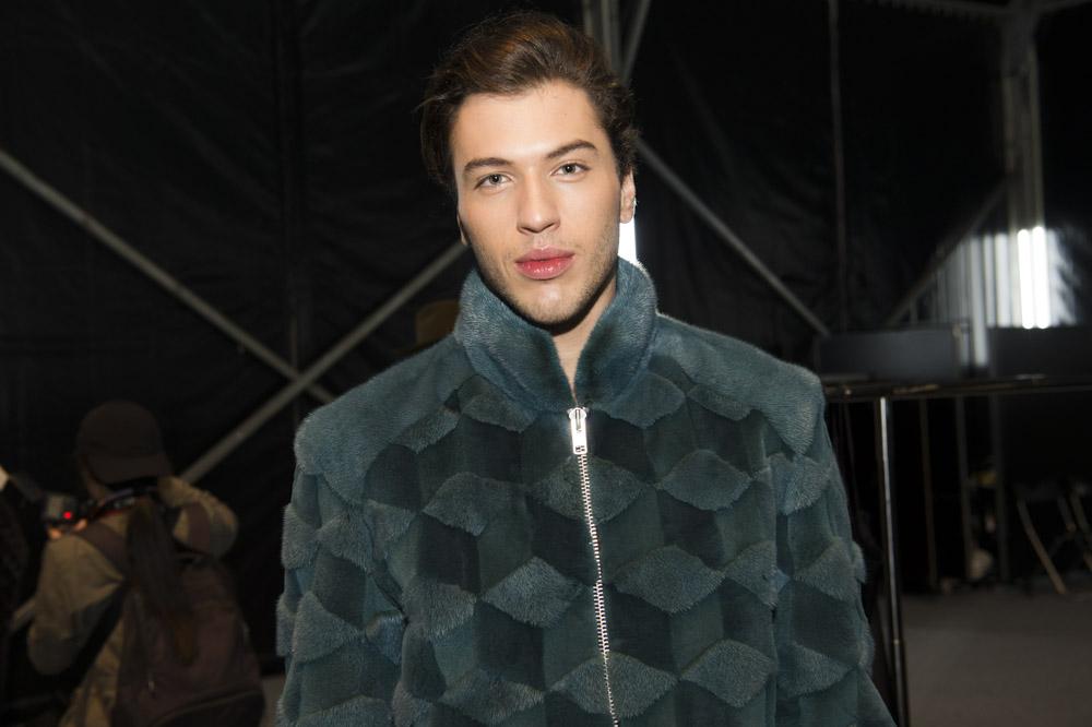 pelliccia giacca