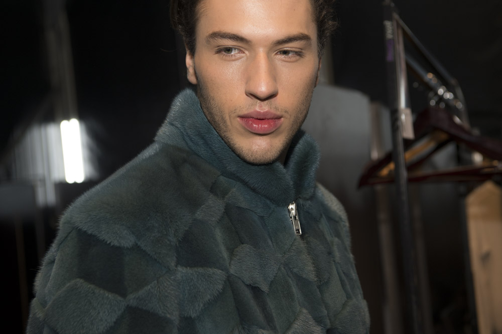 giacca con pelliccia