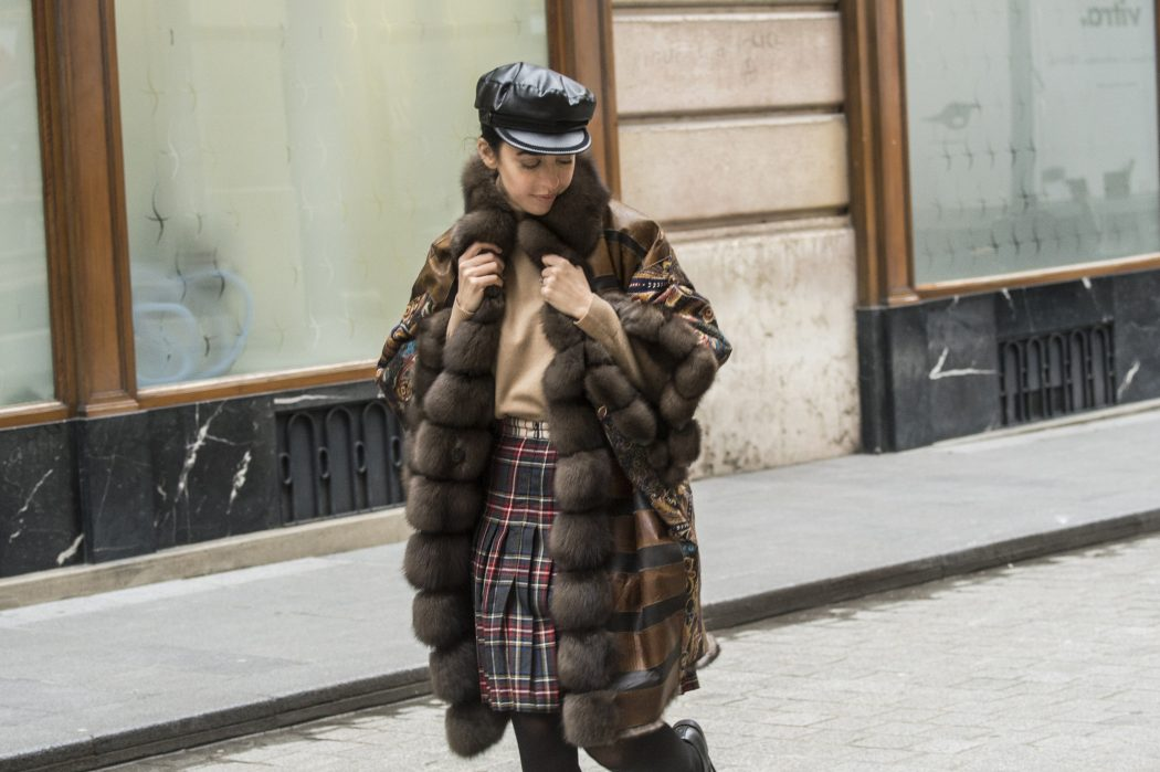 pelliccia zibellinno tosato fur