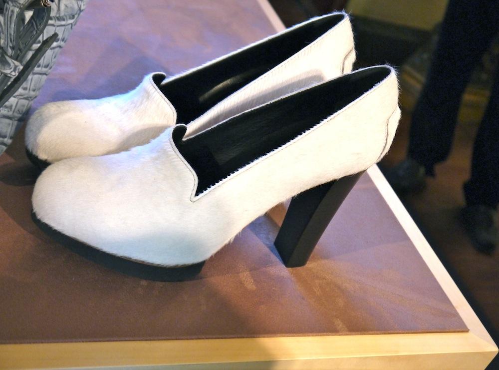 scarpe col tacco in cavallino tods