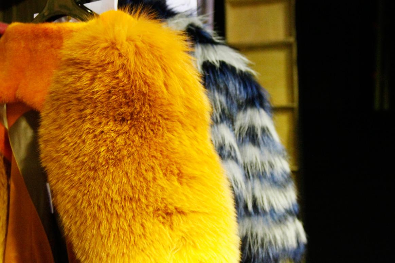 pelliccia di volpe, sfilata, cina fashion week