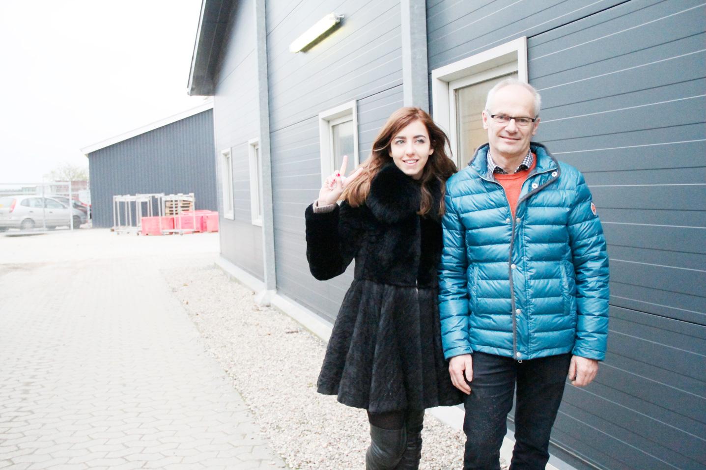 lady fur e Tage Pedersen