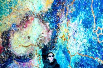 pellicce di lince azzurra lady fur carlo ramello evento milano