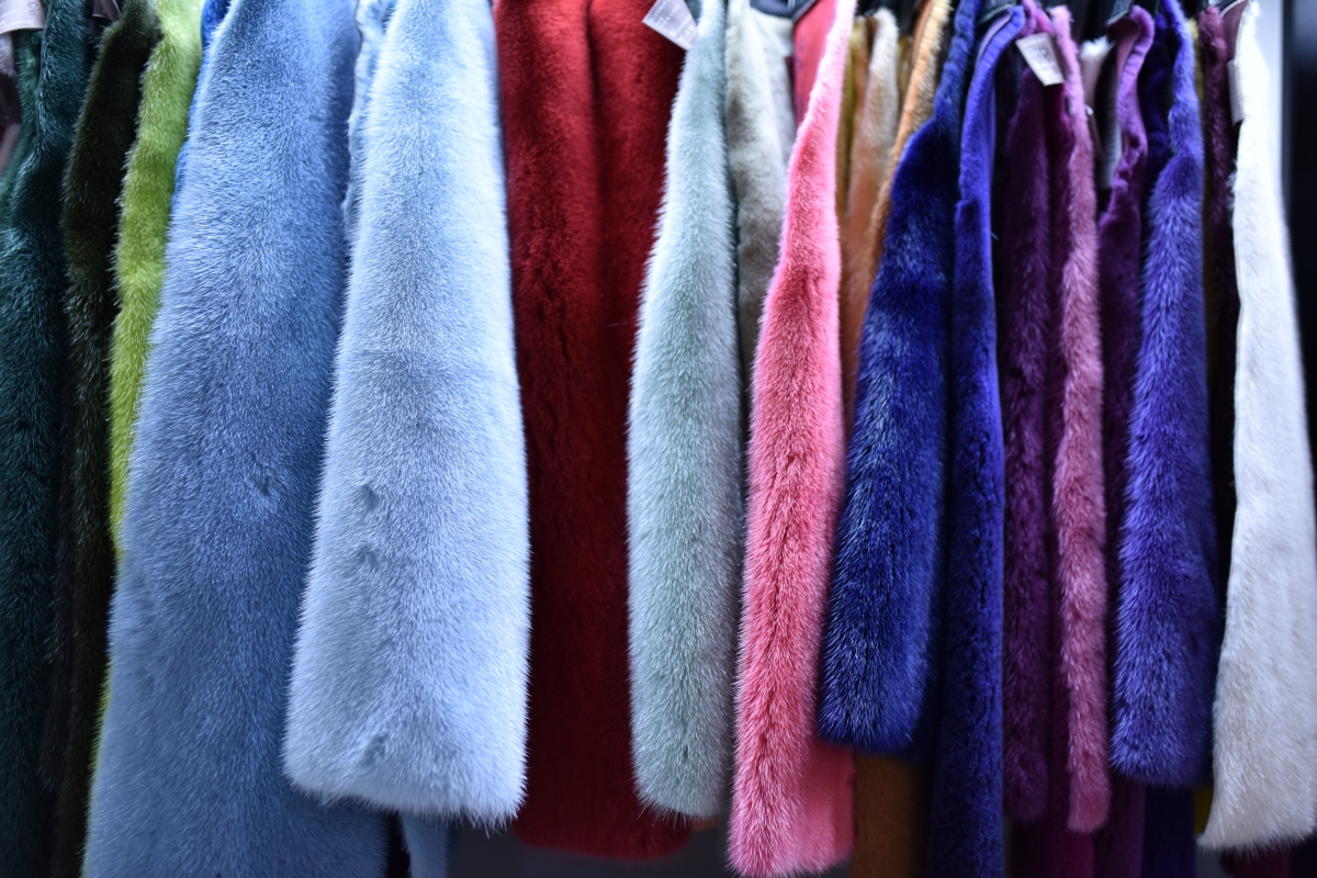 mink skins furs colors kick