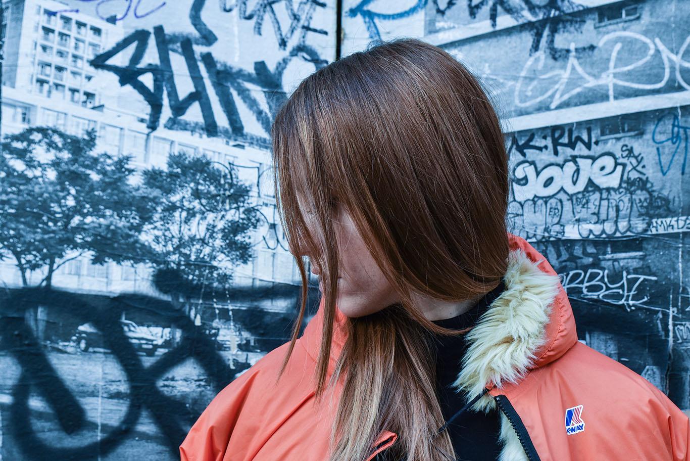parigi giacca k way lady fur foto 6