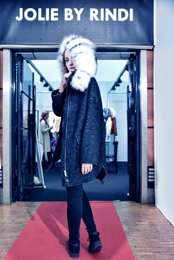 parigi lady fur tranoi foto