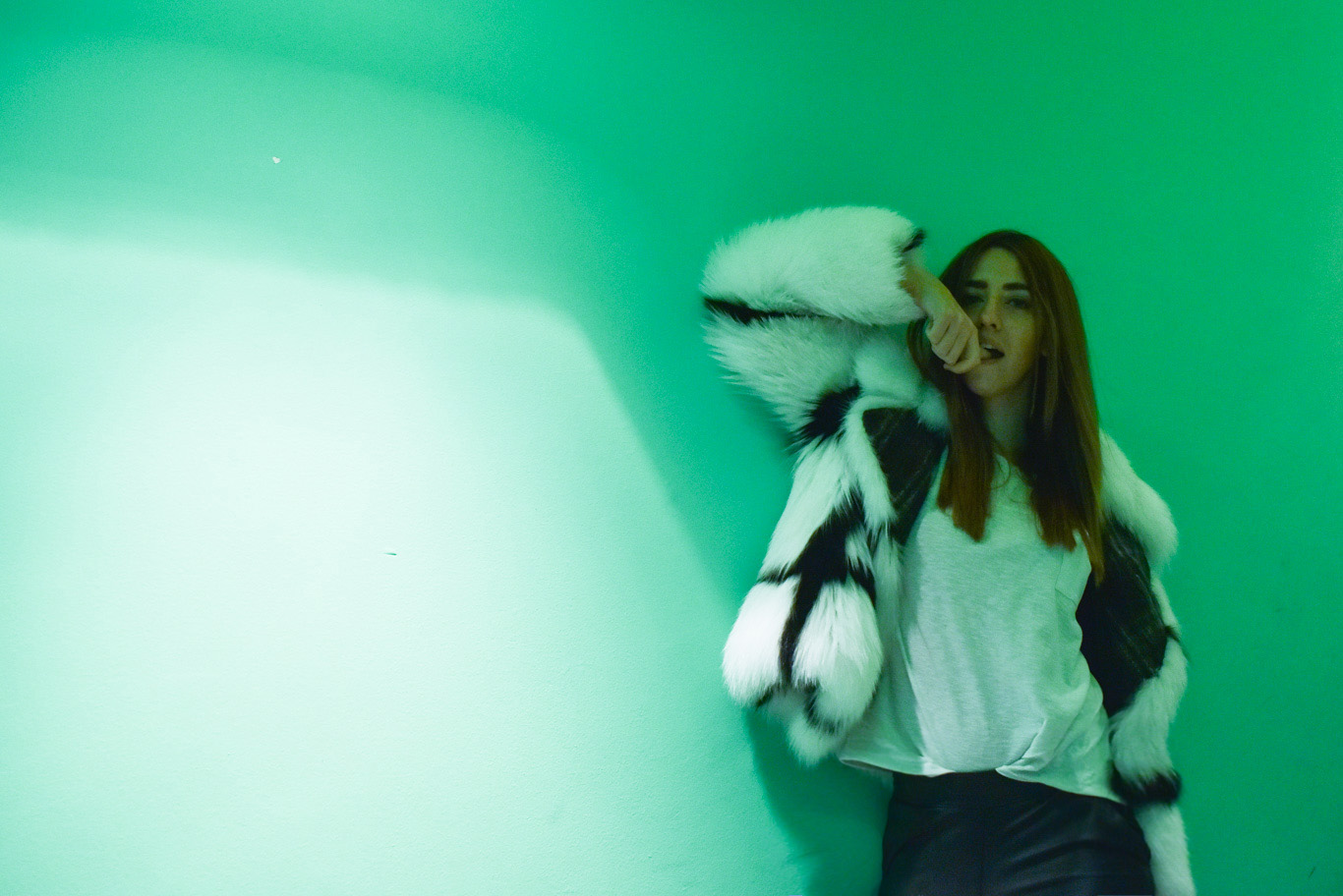 settimana della moda di milano autunno inverno 2015 16 lady fur pelliccia di volpe