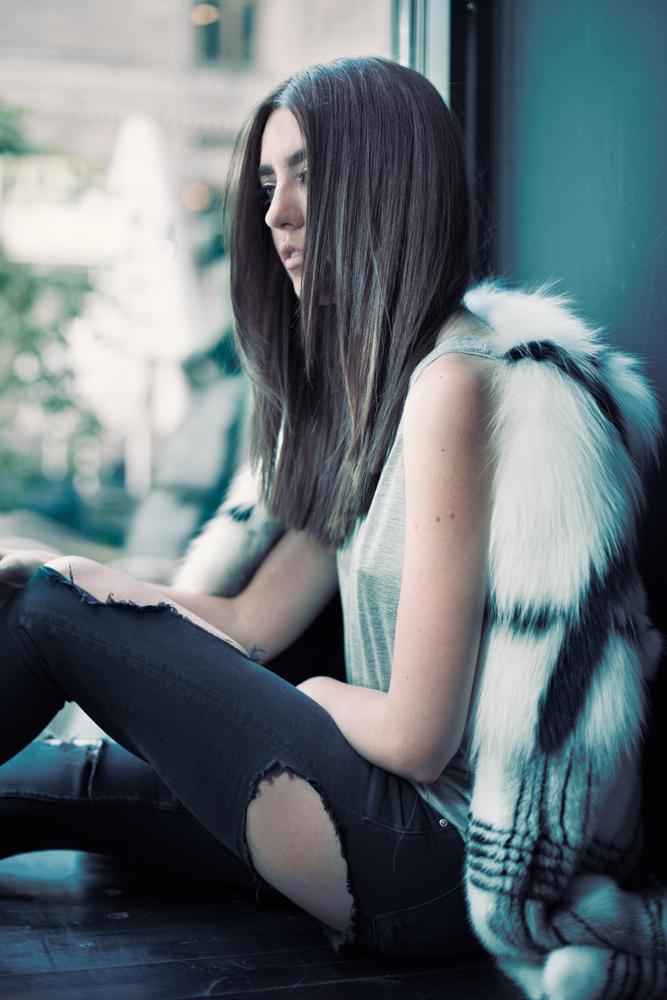 saga furs 2015 pelliccia volpe lady fur helsinki