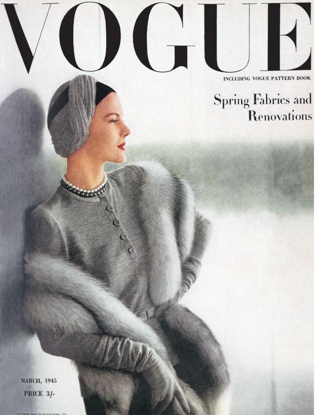 pelle di volpe vogue 1940