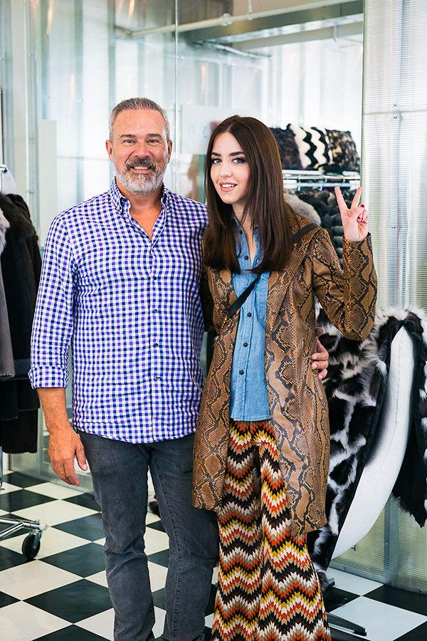 Lady Fur con Eddie Reich