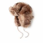 Chapeau de trappeur en peau lainée