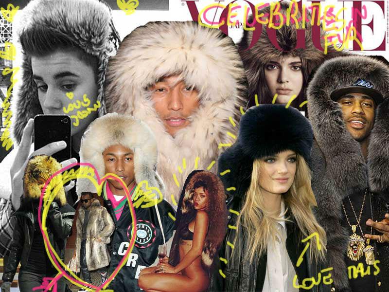 personaggi famosi con cappello in pelliccia