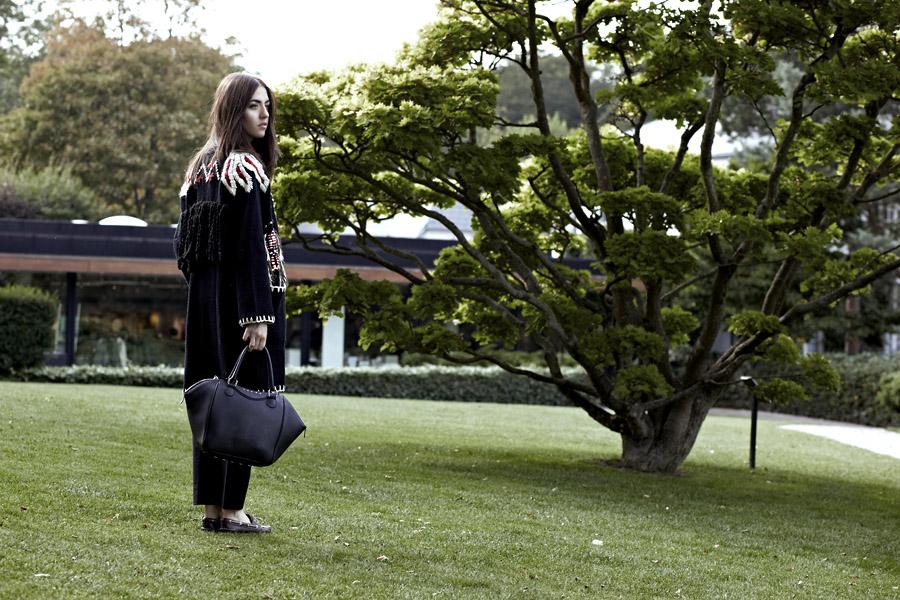 l'ed emotion design borsa pelliccia lady fur