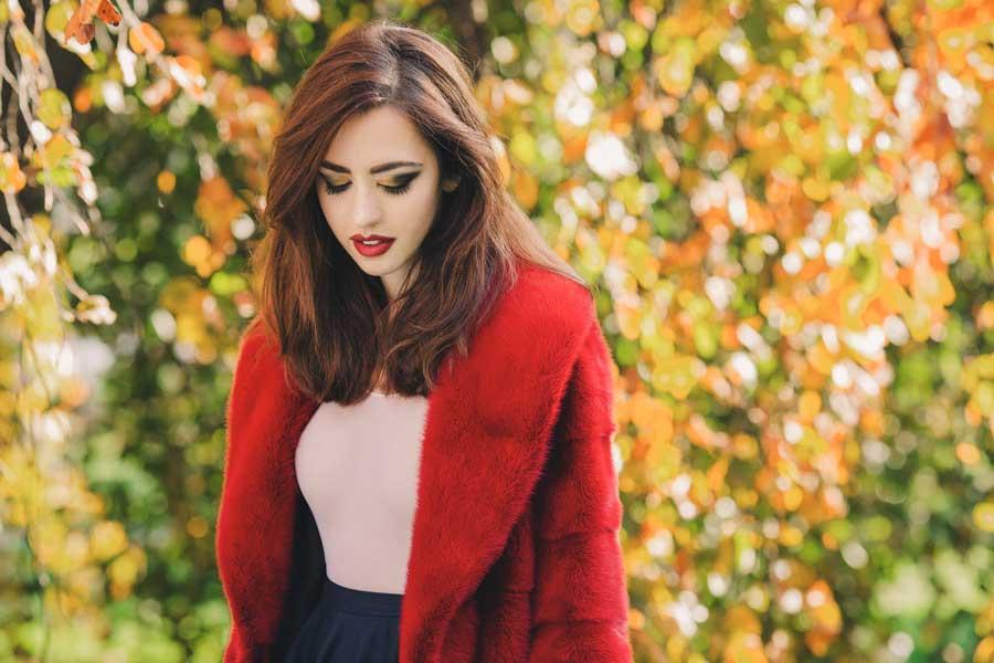 pelliccia di visone lady fur parco sempione
