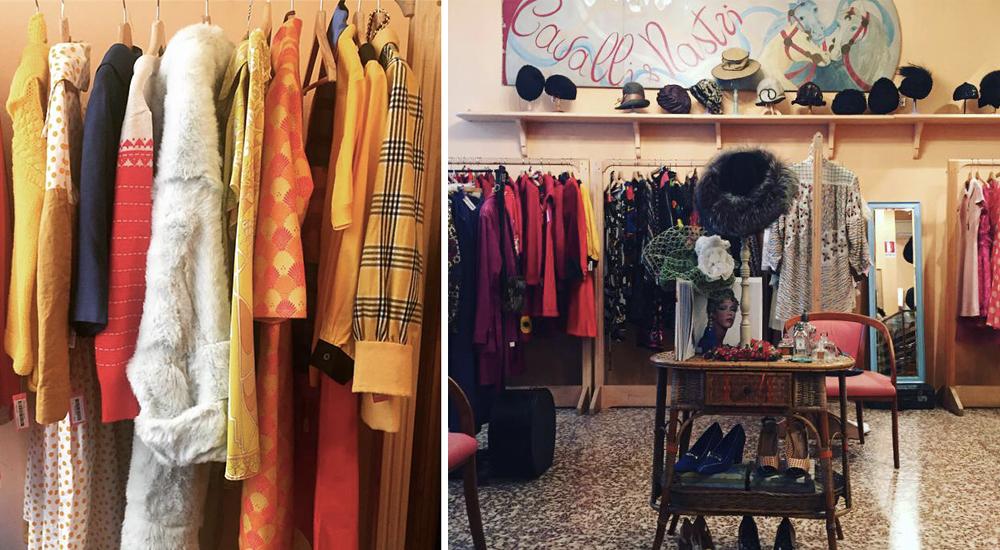 Cavalli e Nastri vintage pellicce Milano