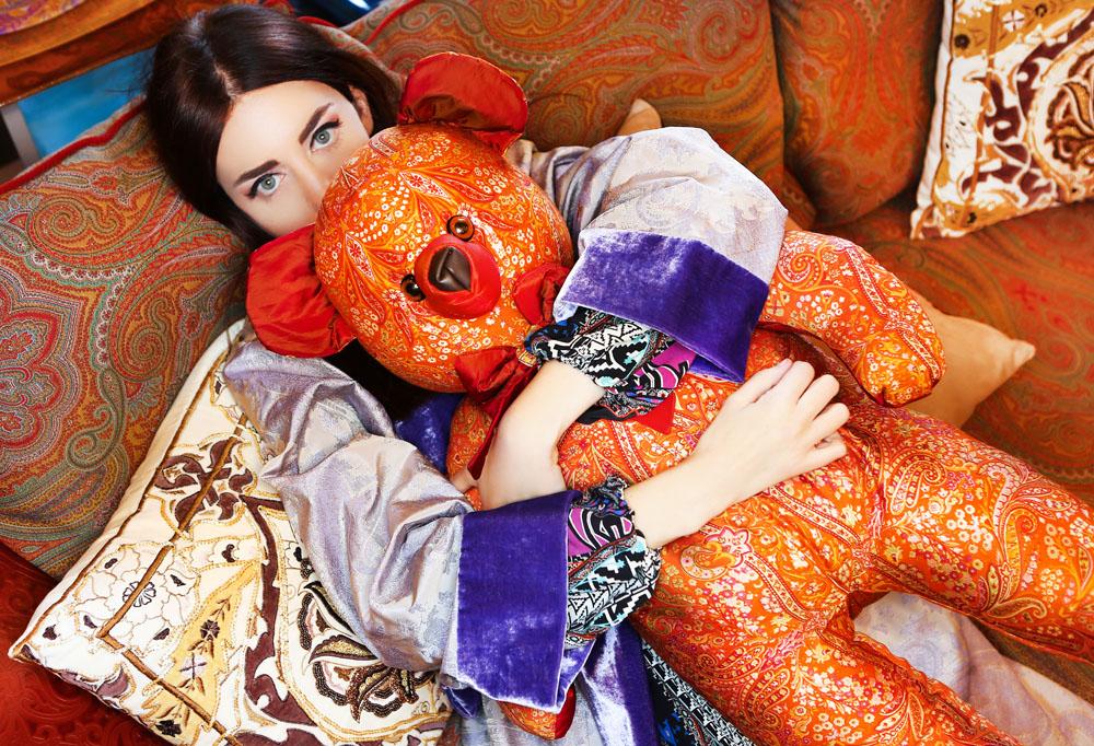 Lady Fur da Etro Home a Porto Arabia Doha Qatar