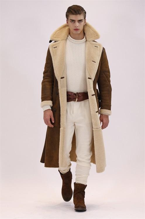abbinare giacca montone uomo