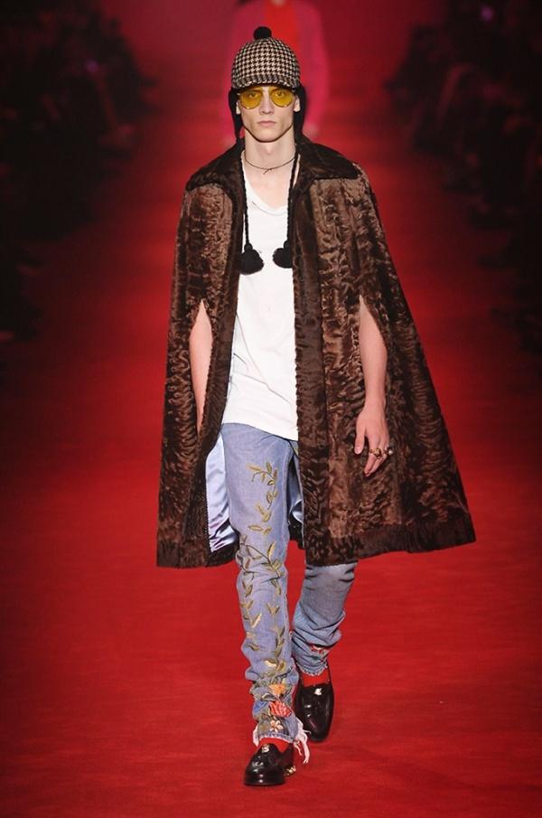 Gucci pelliccia di swakara