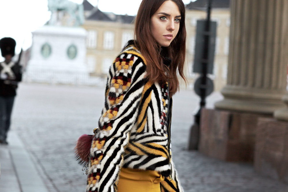 pelliccia visone vladimiro gioia lady fur copenaghen fashion week
