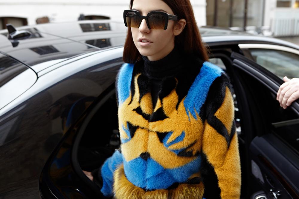 pelliccia di visone e volpe vladimiro gioia lady fur