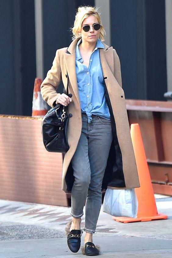 look street Sienna Miller