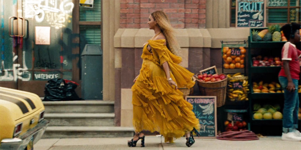 Vestiti Beyoncé: Roberto Cavalli