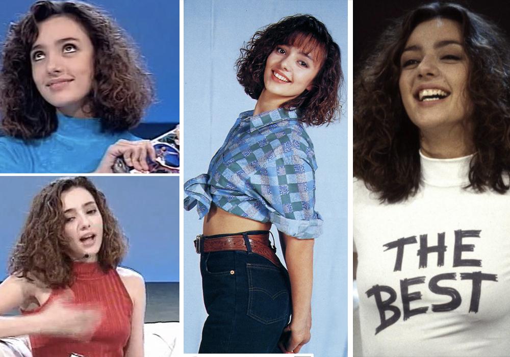 Ambra Angiolini moda anni 90