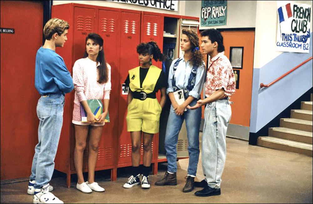 Bayside School anni 90 fashion