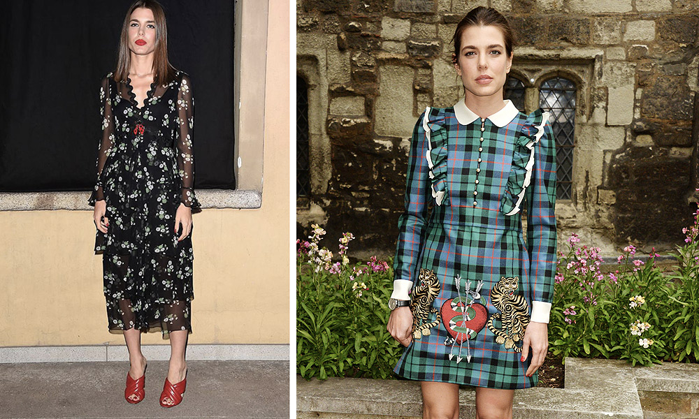 Look chic Charlotte Casiraghi