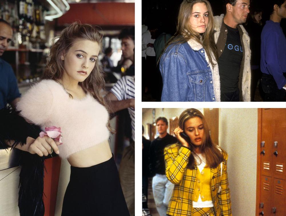 Alicia Silverstone moda anni 90