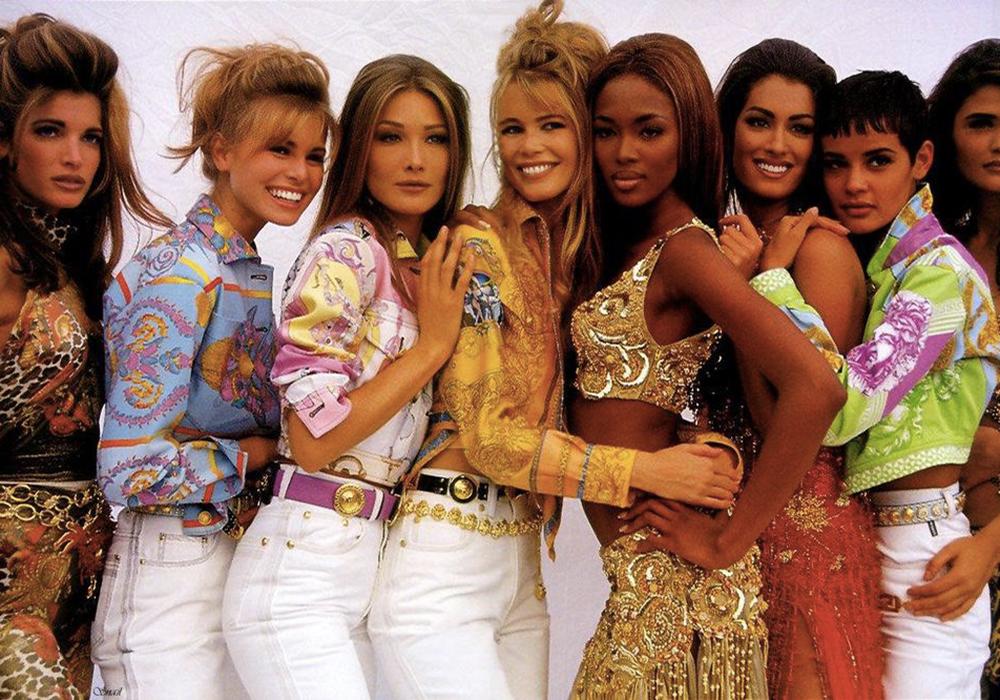 Moda anni 90 Supermodel