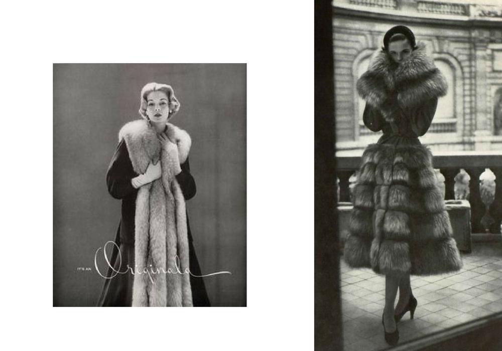 pelliccia vintage