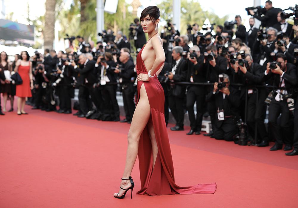 Bella Hadid vestito Cannes 2016